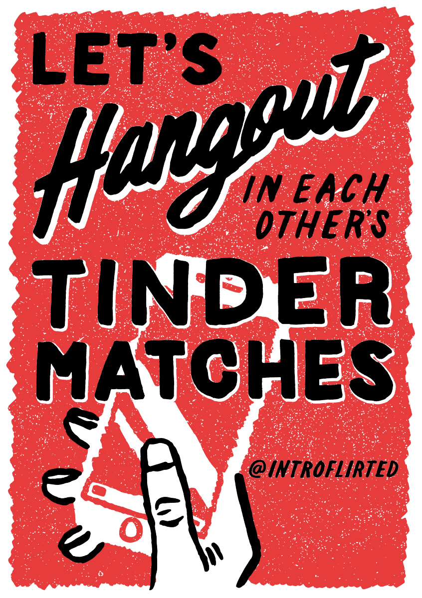Introflirted #16 Tinder Hangout by Josh Higgins