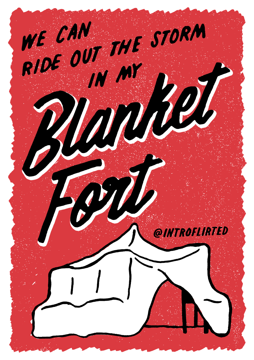 Introflirted #23 Blanket Fort by Josh Higgins